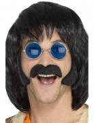 Hippiekit bakkenbarter og moustache sort