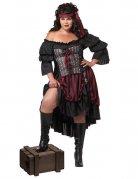 Kostume pirat til kvinder store størrelser