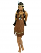 Kostume prærieindianer til kvinder