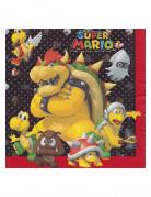 20 papirservietter Super Mario™ 33 x 33 cm