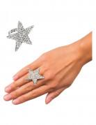 Ring stjerne strass til voksne