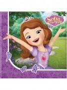 20 Papirservietter Prinsesse Sofia og enhjørningen™