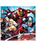 20 Papirservietter - Mighty Avengers™ 33 x 33