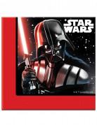 20 papirservietter 33 x 33 cm - Star Wars Final Battle™