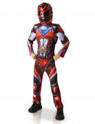 Kostume luksus Power Rangers™ rød til børn - Filmen