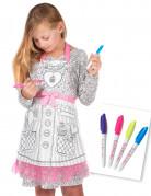 Personlig Miss cupcake forklæde til piger