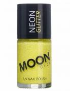 Neglelak gul med glimmer Moonglow©