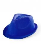 Hat borsalino i blå til børn