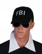 Kasket FBI sort til voksne