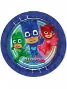 Tallerkener 8 stk. blå PJ Masks™