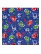 Servietter 16 stk. blå Pyjamasheltene™ 33x33cm