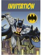 8 Invitationskort Batman™