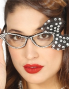 Brille med sløjfe