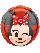 Ballon aluminium Minnie Mouse™ Emoji™ 43 cm