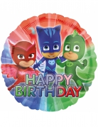 Ballon aluminium Pyjamasheltene™ Happy Birthday 43 cm