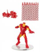 Fødselsdagslys kit Iron Man™
