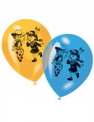 Balloner 6 stk. Cowboy og Indianer