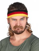 Pandebånd Mullet Tyskland med overskæg