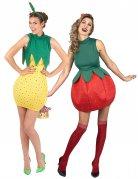 Parkostume ananas og jordbær til kvinder