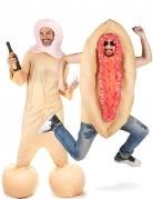 Par kostume tissemand og tissekone til voksne