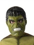 Maske 1/2 Hulk™ til børn