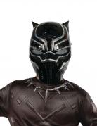Maske 1/2 Black Panther™ til børn