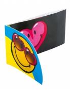 Invitationskort 6 stk Smiley World™