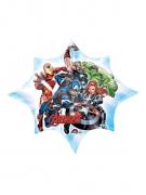Lille stjerneformet ballon Avengers™ 25x27 cm