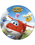 Super Wings™ paptallerkener 23cm