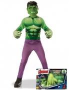 Klassisk Hulk™ gaveboks med kæmpe handsker til børn