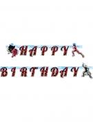 Ladybug™ Happy Birthday guirlande 15cm x 2 m