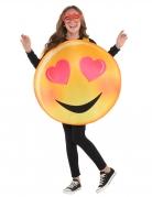 Emoji kostume til børn - Hjerteøjne