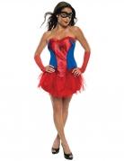 Kostume kjole med skørt Spidergirl™ kvinde