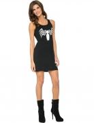 Sort Venom kjole til kvinder - Spiderman™