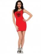 Spider-Girl™ kostume rød kjole kvinde