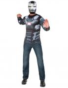 Captain America Civil War™ War Machine tshirt og maske voksen