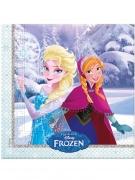 20 stk vinterservietter med prinsesserne fra Frost™