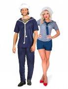 par kostume marine blå voksen